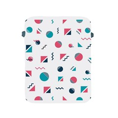 Round Triangle Geometric Pattern Apple Ipad 2/3/4 Protective Soft Cases