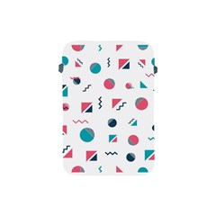 Round Triangle Geometric Pattern Apple Ipad Mini Protective Soft Cases