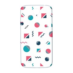 Round Triangle Geometric Pattern Samsung Galaxy S4 I9500/i9505  Hardshell Back Case