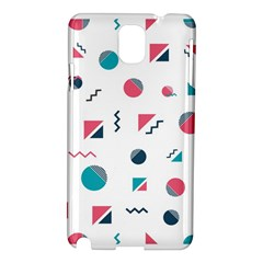 Round Triangle Geometric Pattern Samsung Galaxy Note 3 N9005 Hardshell Case