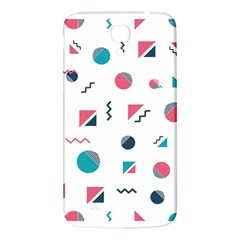 Round Triangle Geometric Pattern Samsung Galaxy Mega I9200 Hardshell Back Case