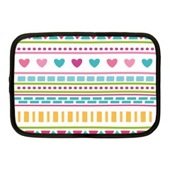 Geometry Line Shape Pattern Netbook Case (medium)