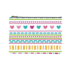 Geometry Line Shape Pattern Cosmetic Bag (large)