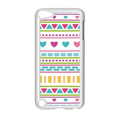 Geometry Line Shape Pattern Apple Ipod Touch 5 Case (white)