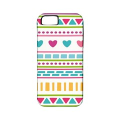 Geometry Line Shape Pattern Apple Iphone 5 Classic Hardshell Case (pc+silicone)