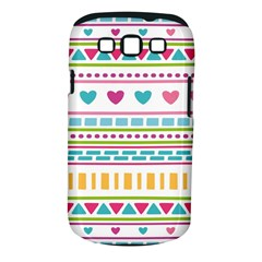 Geometry Line Shape Pattern Samsung Galaxy S Iii Classic Hardshell Case (pc+silicone)