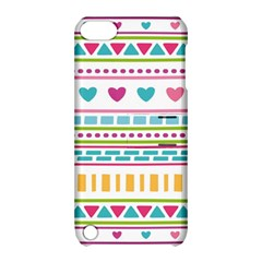 Geometry Line Shape Pattern Apple Ipod Touch 5 Hardshell Case With Stand