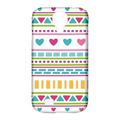 Geometry Line Shape Pattern Samsung Galaxy S4 Classic Hardshell Case (pc+silicone)