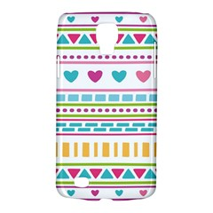 Geometry Line Shape Pattern Samsung Galaxy S4 Active (i9295) Hardshell Case