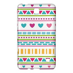 Geometry Line Shape Pattern Samsung Galaxy Tab 4 (7 ) Hardshell Case