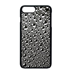 Water Bubble Photo Apple Iphone 8 Plus Seamless Case (black)