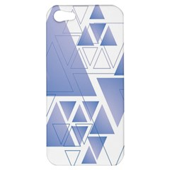 Triangle Geometry Apple Iphone 5 Hardshell Case
