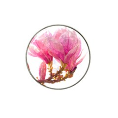 Wild Magnolia Flower Hat Clip Ball Marker (4 Pack) by picsaspassion