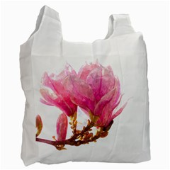 Wild Magnolia Flower Recycle Bag (two Side) by picsaspassion