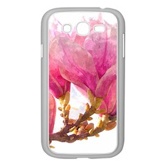 Wild Magnolia Flower Samsung Galaxy Grand Duos I9082 Case (white) by picsaspassion