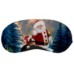 Merry Christmas, Santa Claus With Funny Cockroach In The Night Sleeping Masks by FantasyWorld7