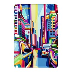 City Street Car Road Architecture Samsung Galaxy Tab Pro 10 1 Hardshell Case
