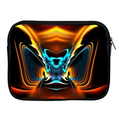 Duck Crazy Duck Abstract Apple Ipad 2/3/4 Zipper Cases