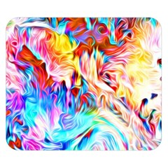 Background Drips Fluid Colorful Double Sided Flano Blanket (small)  by Bejoart