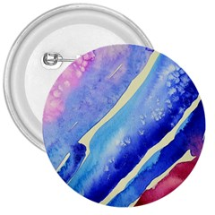 Painting Abstract Blue Pink Spots 3  Buttons by Bejoart