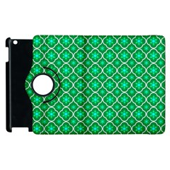 Green Texture Background Template Rustic Apple Ipad 3/4 Flip 360 Case