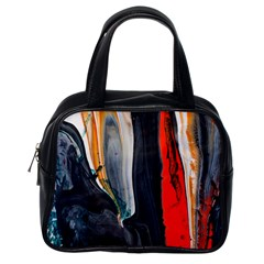 Art Modern Painting Background Classic Handbag (one Side)