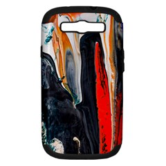 Art Modern Painting Background Samsung Galaxy S Iii Hardshell Case (pc+silicone)