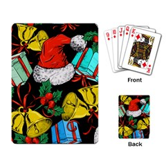 Christmas Gifts Gift Red Winter Playing Cards Single Design by Bejoart