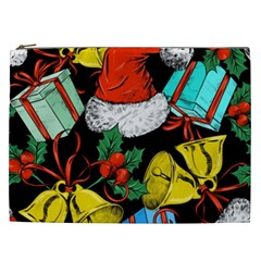 Christmas Gifts Gift Red Winter Cosmetic Bag (xxl)