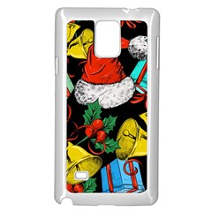 Christmas Gifts Gift Red Winter Samsung Galaxy Note 4 Case (white)