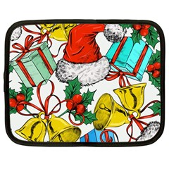 Christmas Gifts Gift Red December Netbook Case (large)