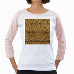 Esparto Tissue Braided Texture Girly Raglan