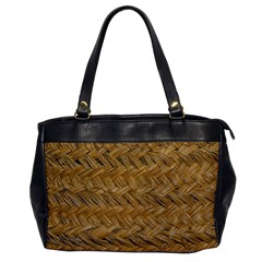 Esparto Tissue Braided Texture Oversize Office Handbag