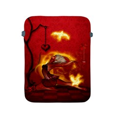 Wonderful Fairy Of The Fire With Fire Birds Apple Ipad 2/3/4 Protective Soft Cases