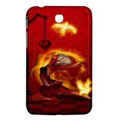 Wonderful Fairy Of The Fire With Fire Birds Samsung Galaxy Tab 3 (7 ) P3200 Hardshell Case