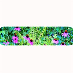 Purple Coneflower Garden With Tiger Eye Tree Large Bar Mats