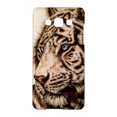 White Tiger Samsung Galaxy A5 Hardshell Case