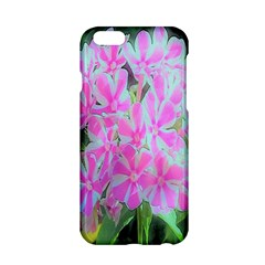Hot Pink And White Peppermint Twist Garden Phlox Apple Iphone 6/6s Hardshell Case