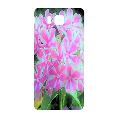 Hot Pink And White Peppermint Twist Garden Phlox Samsung Galaxy Alpha Hardshell Back Case