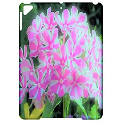 Hot Pink And White Peppermint Twist Garden Phlox Apple Ipad Pro 9 7   Hardshell Case