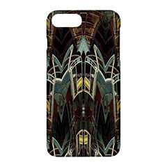Modern Industrial Abstract Rust Pattern Apple Iphone 7 Plus Hardshell Case by CrypticFragmentsDesign