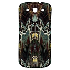 Modern Industrial Abstract Rust Pattern Samsung Galaxy S3 S Iii Classic Hardshell Back Case