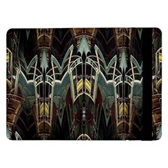 Modern Industrial Abstract Rust Pattern Samsung Galaxy Tab Pro 12 2  Flip Case by CrypticFragmentsDesign