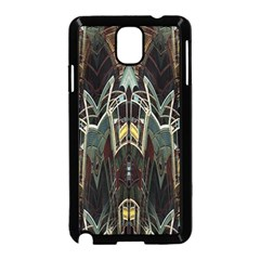 Modern Industrial Abstract Rust Pattern Samsung Galaxy Note 3 Neo Hardshell Case (black) by CrypticFragmentsDesign