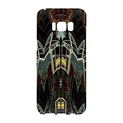 Modern Industrial Abstract Rust Pattern Samsung Galaxy S8 Hardshell Case  by CrypticFragmentsDesign