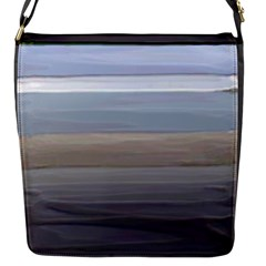 Pompey Beach Flap Closure Messenger Bag (s)