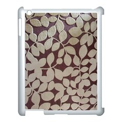 Wordsworth Leaves Apple Ipad 3/4 Case (white)