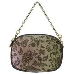 Wordsworth Metallic Flowers Chain Purse (one Side)
