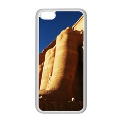 Abu Simbel Egyptian Ruins  Apple Iphone 5c Seamless Case (white) by StarvinArtisan