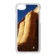 Abu Simbel Egyptian Ruins  Apple Iphone 8 Seamless Case (white)